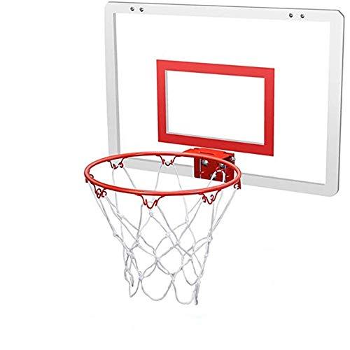 MHCYKJ Canasta Baloncesto Interior Puerta De Juego Montado En La Pared para Niños Tablero Aro Oficina Mini Junta Deportes Infantil