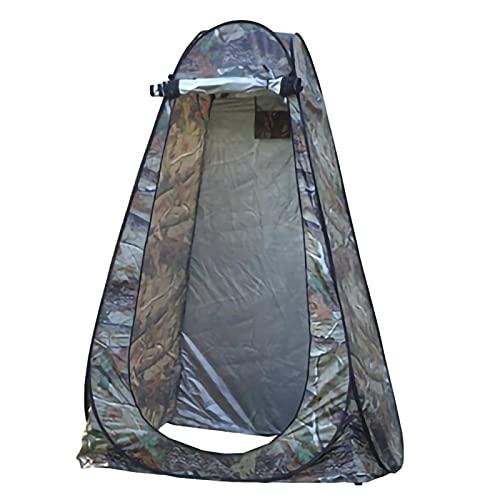 Tienda ducha cambiador Tienda de privacidad portátil, carpa de ducha de camping, tienda de tiendas a prueba de lluvias al aire libre plegable, carpa de lluvia con 2 ventanas, sin ducha, adecuado para