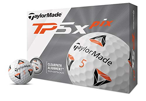 TaylorMade『New TP5x Pix ボール(M7184301)』