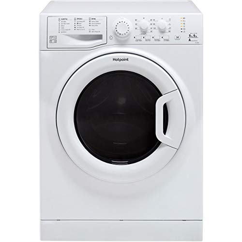 HOTPOINT FDL8640P Futura 8kg Wash 6kg Dry 1400rpm Freestanding Washer Dryer - White