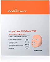 About Meアバウトミー メディアンサーリアルスキンフィットコラーゲンマスク 4枚入 About Me MediAnswer Skin Fit Mask