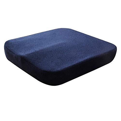 Ericcay Speicher Baumwolle Büro Stuhl Kissen Student Seat Pad Atmungsaktive Unikat Sitzauflage Für Office Outdoor Garten Schlafsäle A 40X40X6Cm(16X16X2) (Color : A, Size : 40X40X6Cm)