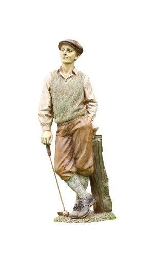 Accents & Occasions Standing Golfer Statue, 25-Inch Tall