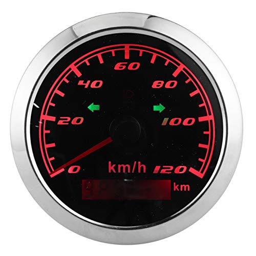 Velocímetro GPS 120KM/H IP67 Indicador antivaho impermeable para automóvil, motocicleta, 9‑32 V, 3,3 pulgadas