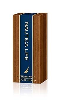 Nautica Life Eau de Toilette for Men Spray 3.4 Ounce