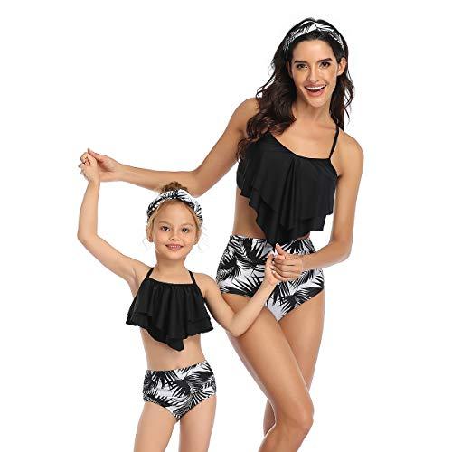 Madre e Hija Bikinis Traje de baño