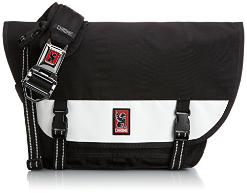 Chrome Mini Metro Messenger Bag Black/White, One Siz