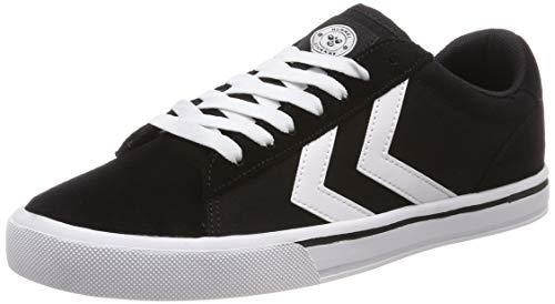 Hummel Unisex-Erwachsene Nile Canvas Low Sneaker Niedrig, Schwarz (Black 2001), 41 EU