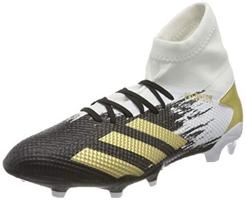 adidas Herren PREDATOR 20.3 FG Fussballschuh, Ftwr White Gold Met Core Black, 39 1/3 EU