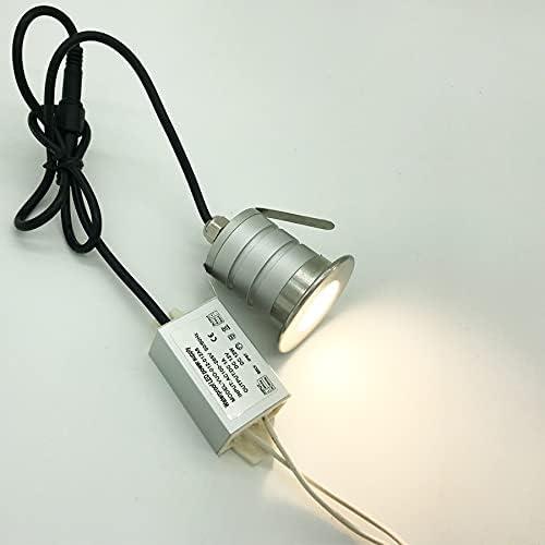 CESULIS 3W Mini Oakland Mall Led Downlight Translated Lamp 280Lm CREE Light 3 80Ra Night
