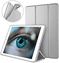 DTTO Case for iPad Mini 4,(Not Compatible with Mini 5th Generation 2019) Ultra Slim Lightweight Smart Case Trifold Stand with Flexible Soft TPU Back Cover for iPad mini4[Auto Sleep/Wake], Space Grey