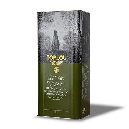 Toplou Monastery - Griechisches Premium Olivenöl nativ extra von Kreta, kaltgepresst | 5 Liter Kanister | zum Braten, Kochen und Backen