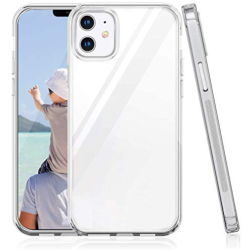 Oihxse Transparente Silicona Case Compatible con iPhone 12 Pro MAX 6.7'' 2020 Funda Suave TPU Protección Carcasa Moda Dibujos Animados Divertida Diseño Ultra-Delgado Cubierta (A16)