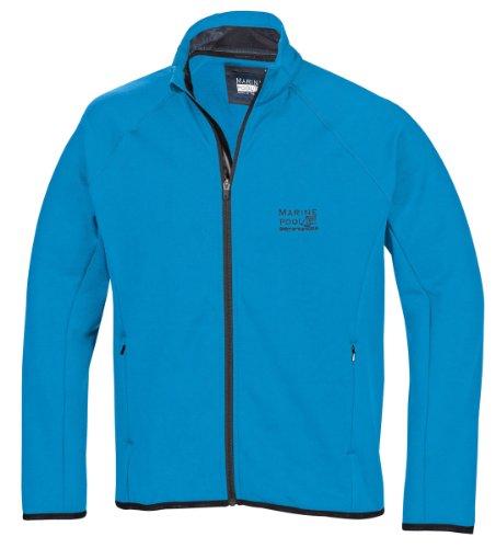 Marinepool Herren Jacke B3 Midlayer Fleece Jacket Men, Ocean Blue, L, 5000474-506-190
