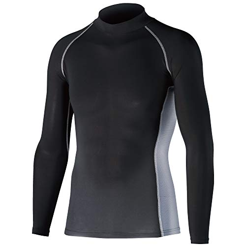 Otafuku Glove Long Sleeve High Neck Shirt JW - 625 Body Toughness Cooling & Deodorizing Power Stretch, blk