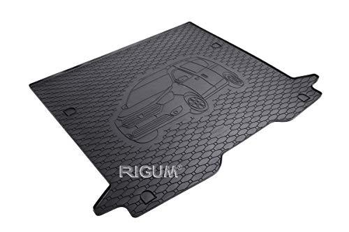 RIGUM Passgenaue Kofferraumwanne geeignet für Dacia Dokker ab 2012 + Autoschoner MONTEUR