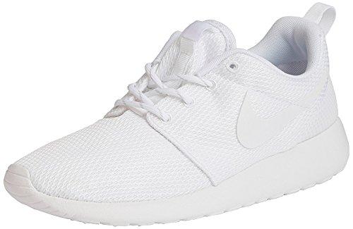Nike Rosche Run Damen Sneakers, Weiß (111 WHITE/WHITE), 38.5 EU