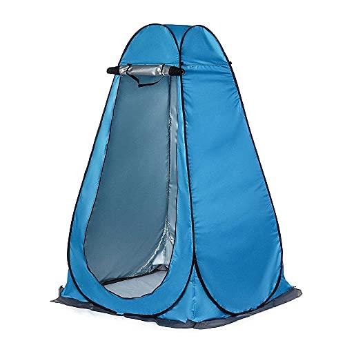 CellLucky Baño de Ducha de privacidad portátil Tienda de campaña al Aire Libre Cobertizo Vestidor de baño UV Letrina Inodoro Observación de Aves Tienda de Cambio con Bolsa(Estados Unidos,1,5 m)