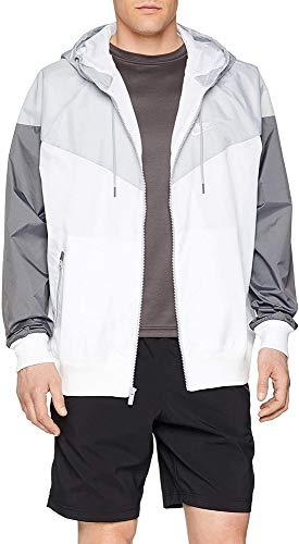 Nike He WR Jacket HD, Giacca Uomo, Bianco (White/Wolf Grey/Dark Grey/White 100), Large