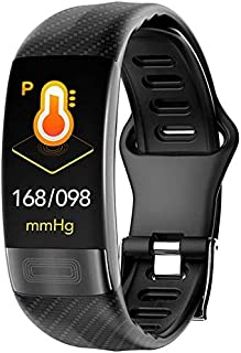 Hngyanp Pulsómetro Banda de la muñeca de la presión Arterial PPG ECG Pulsera Inteligente Actividad Deportes Braceletes IP67