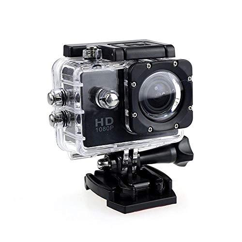 Noir KOBWA Cam/éra daction 4K Full HD 1080p /étanche Cam/éra de Sport /étanche 5,1 cm LCD sous leau 30 m de Profondeur 110/° Grand Angle Kit daccessoires de Montage