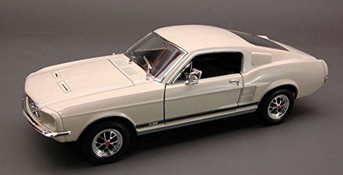 Welly WE2689 Ford Mustang GT 1967 Cream 1:24 MODELLINO Die Cast Model