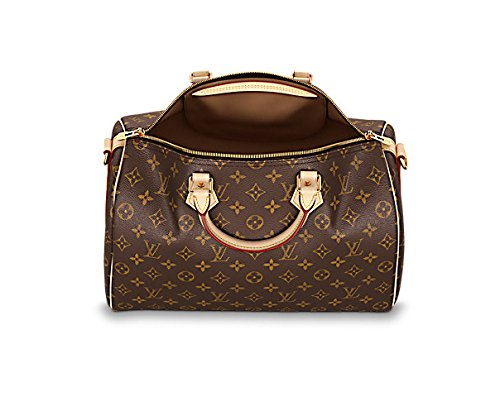 Fashion Shopping Louis Vuitton Monogram Cross Body Handles Handbag Canvas Speedy Bandouliere 35 Article: