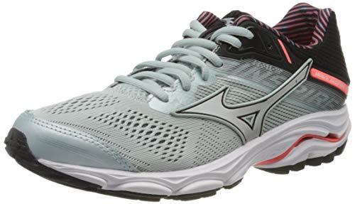 Mizuno Wave Inspire 15 Stabilitätsschuh Damen - Mint, Schwarz, Women's Running shoes stability shoe, angel blue/lavender frost/black, 4 UK (36.5 EU)