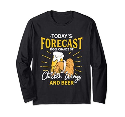Divertidas alas de pollo y abanico de cerveza - Hoy Manga Larga
