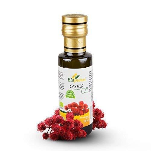 Organique Certifié Presséà Froid Ricin Produits de Beauté Huile 100ml Biopurus