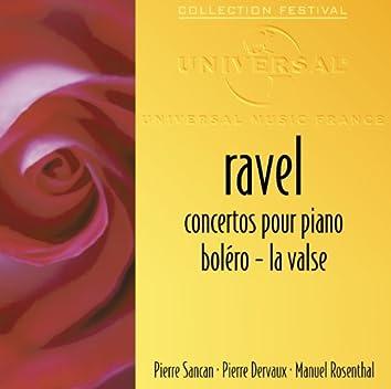 ラヴェル:ボレロ ラ・ヴァルス、ピアノ協奏曲