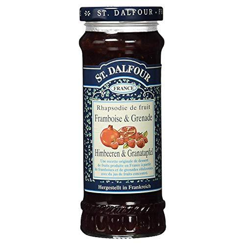 frambuesas St. Dalfour y mermelada de granada 284g