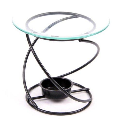 Puckator Metal Spiral Oil Burner - Thin