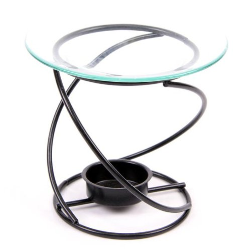 Puckator Metal Spiral Oil Burner - Thin
