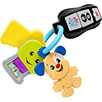 Fisher-Price Laugh & Learn Play & Go Keys Musical Learning Toy for Babies &Toddlers