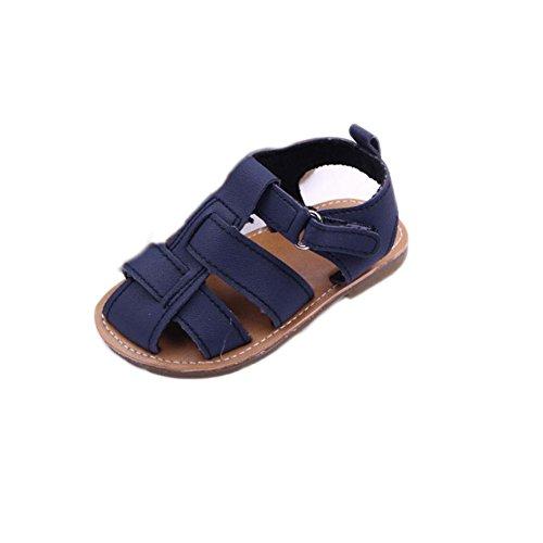 Amlaiworld Babyschuhe, Jungen Sandalen Kleinkind Peeling erste Lauflernhilfen Kind Schuhe (13, Marine)
