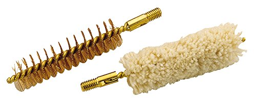 Traditions Performance Firearms Muzzleloader Cleaning Brush and Swab Set (.54 Cal, 10/32 Threads)