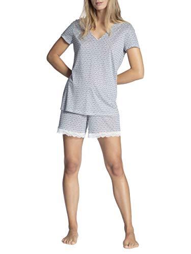 CALIDA Cosy Bamboo Kurz-Pyjama Damen