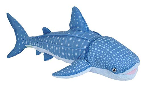 Wild Republic Whale Shark Plush, Stuffed Animal, Plush Toy, Gifts for Kids, Living Ocean 26 Inches
