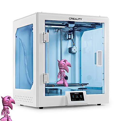 Stampante 3d Creality Cr-5 Pro Stampante 3d 4.3in Touch Screen E All-in-one Struttura Di Stampa Trasparente E Completamente Chiusa Ul Accensione Certificata, Telaio Metallico Fdm Stampanti Fai Da Te 3
