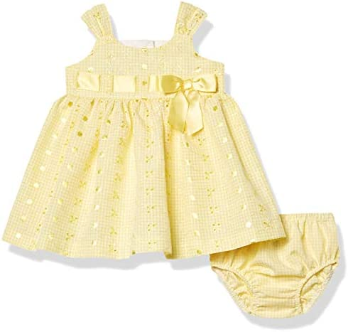 Bonnie Baby Baby Girls Sleeveless Sundress Yellow 6 9M product image