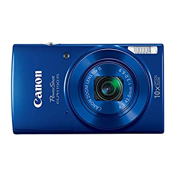 Canon PowerShot ELPH 190 IS Digital Camera  Blue  with 10x Optical Zoom and Built-In Wi-Fi