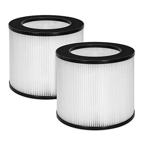 Best Choice Products Set of 2 Air Purifier Replacement Filters w/True HEPA and Fine Preliminary Layers
