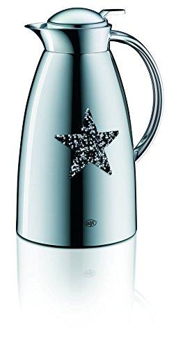 Alfi Gusto Metall 3522904100 Isolierkanne 1 Stück (1 Liter, 14 x 15 x 26 cm) star black