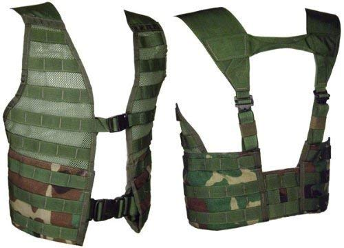 US Military MOLLE FLC Vest, Woodland Camo