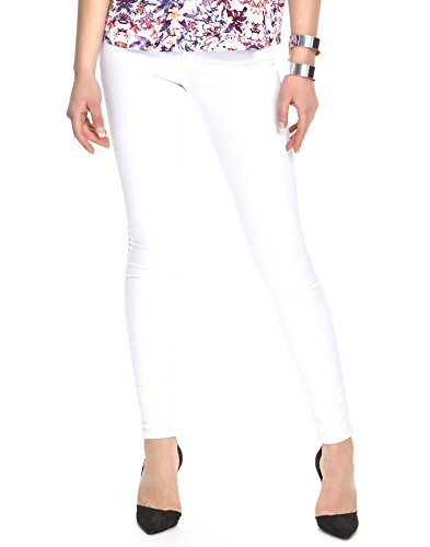 ONLY Damen Ultimate Regular Soft White Jeans, Weiß, 40W / 34L