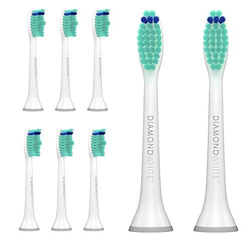 DiamondWhite Replacement Toothbrush Heads for Sonicare, Fits 2 Series,...