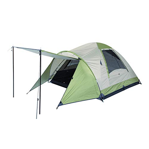 OZtrail Tasman 3V Three Person Dome from with tent floor area 220x200x130cm Tent head height 130 cm (DTMTAS3V) Camping tent, family tent 3.9kg