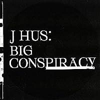J Hus Big ConspiracyRap ミュージックアルバムポスターキャンバスペインティングアートポスタープリントホームウォールリビングルームデコレーション-50x75インチフレームなし