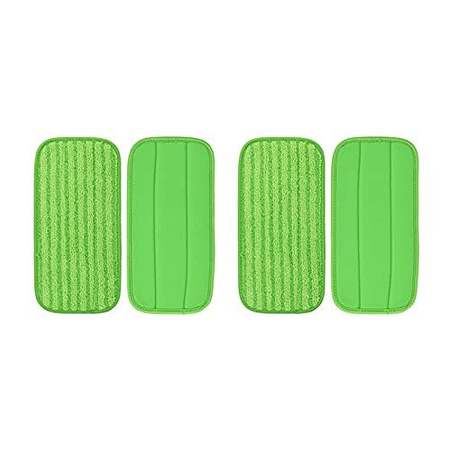 YJLLOVE YANGJIAOLIAN Lavable Limpieza Trapear Pads Rags en Forma para el Swiffer WetJet Barredor de Suelo seco Wet Mop Trapo de Tela Piezas de Recambio Accesorios